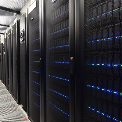 ​​​STFC Scientific Computing Department's Data Centre in Oxfordshire.