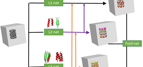 Protein structural feature libraries