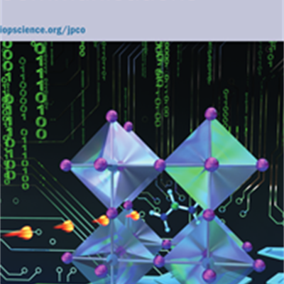 Journal of Physics Communications front page