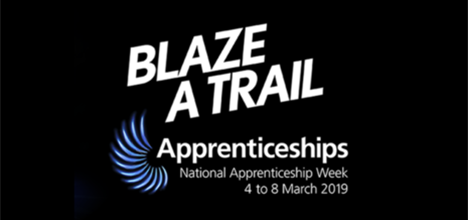 National Apprenticeship Week 2019 banner