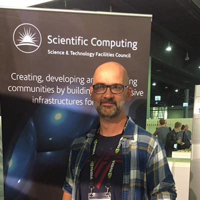 Scientific Computing Department's booth at the ISC High Performance 2018.